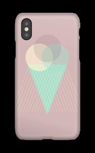 Jäätelö vanharoosa kuoret IPhone X