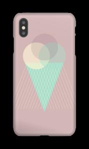 Boules de glace rose Coque  IPhone XS Max