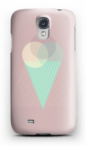 Pinkish Ice Cream case Galaxy S4