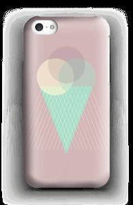 Jäätelö vanharoosa kuoret IPhone 5c