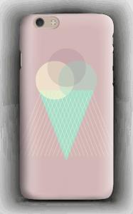 Jäätelö vanharoosa kuoret