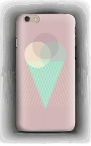 Jäätelö vanharoosa kuoret IPhone 6 Plus