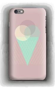 Jäätelö vanharoosa kuoret IPhone 6s Plus