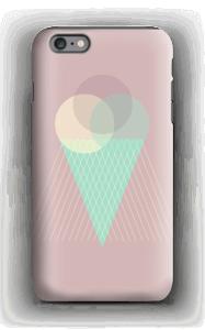 Jäätelö vanharoosa kuoret IPhone 6s Plus tough