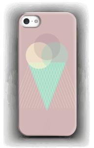 Jäätelö vanharoosa kuoret IPhone SE