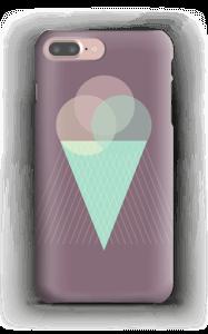 Jäätelö violetti kuoret IPhone 7 Plus