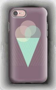 Jäätelö violetti kuoret IPhone 7 tough