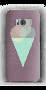 Jäätelö violetti kuoret Galaxy S8