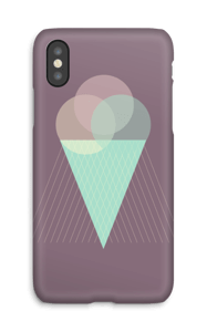 Purple ice cream case IPhone X