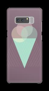 Boules de glace violet Coque  Galaxy Note8