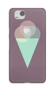 Purple Ice Cream case Pixel 2