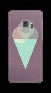 Lila Eis Handyhülle Galaxy S9