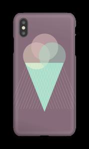 Boules de glace violet Coque  IPhone XS Max