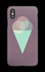 Iskrem lilla deksel IPhone XS