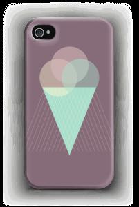 Purple Ice Cream case IPhone 4/4s