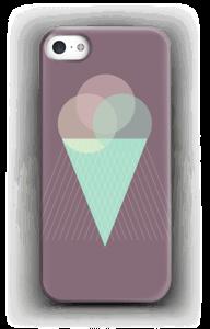 Boules de glace violet Coque  IPhone 5/5S