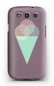 Purple ice cream case Galaxy S3