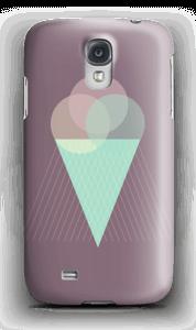 Iskrem lilla deksel Galaxy S4