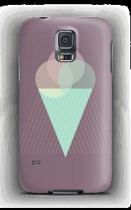 Iskrem lilla deksel Galaxy S5