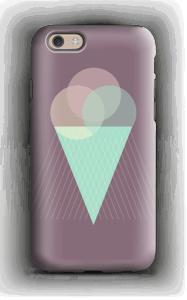 Jäätelö violetti kuoret IPhone 6s tough