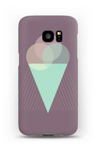 Purple Ice Cream case Galaxy S7 Edge
