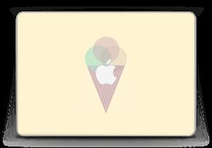 "Gelbes Eis Skin MacBook Pro Retina 13"" 2015"