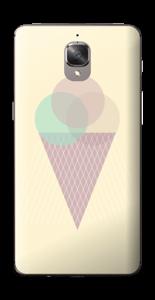Jäätelö keltainen tarrakuori OnePlus 3T