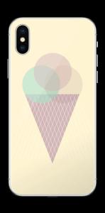 Cucurucho Amarillo Vinilo  IPhone X