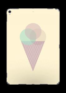 Jäätelö keltainen tarrakuori IPad Pro 10.5