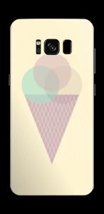 Yellow ice cream Skin Galaxy S8