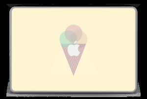 """Jäätelö keltainen tarrakuori MacBook Pro 15"""" -2015"""