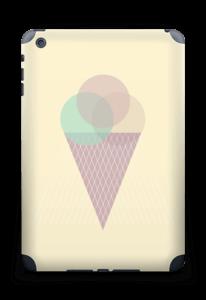 Yellow ice cream Skin IPad mini 2 back