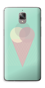 Jäätelö minttu tarrakuori OnePlus 3T