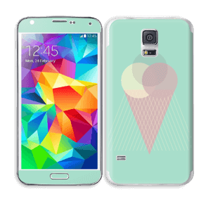 Jäätelö minttu tarrakuori Galaxy S5