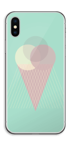 Minty green ice cream Skin IPhone X