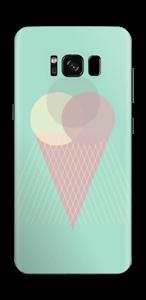 Jäätelö minttu tarrakuori Galaxy S8