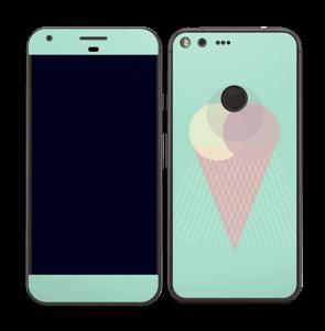 Boules de glace Menthe Skin Pixel XL