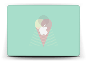 "Jäätelö minttu tarrakuori MacBook Air 13"""