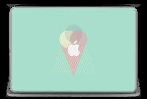 """Jäätelö minttu tarrakuori MacBook Pro 15"""" -2015"""