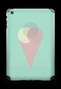 Jäätelö minttu tarrakuori IPad mini 2 back