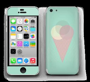 Jäätelö minttu tarrakuori IPhone 5c