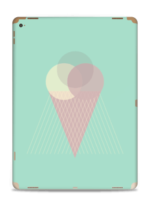 Mint Green Ice Cream Skin IPad Pro 12.9