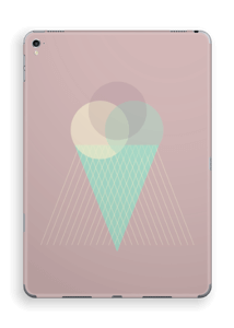Pink ice cream Skin IPad Pro 9.7