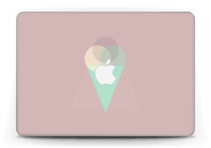 "Pinkish Ice Cream Skin MacBook Pro Retina 13"" 2015"