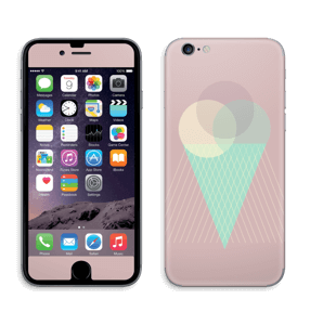 Pink ice cream Skin IPhone 6/6s