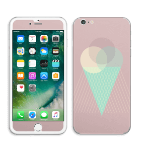 Pink ice cream Skin IPhone 6 Plus