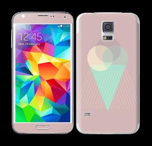 Pink ice cream Skin Galaxy S5