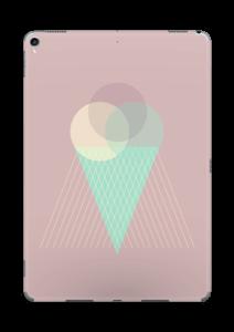 Jäätelö vanharoosa tarrakuori IPad Pro 10.5