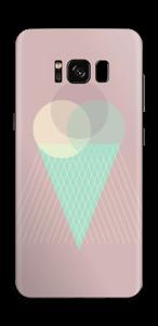 Jäätelö vanharoosa tarrakuori Galaxy S8