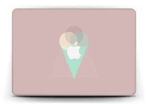Pinkish Ice Cream Skin MacBook Air 13""